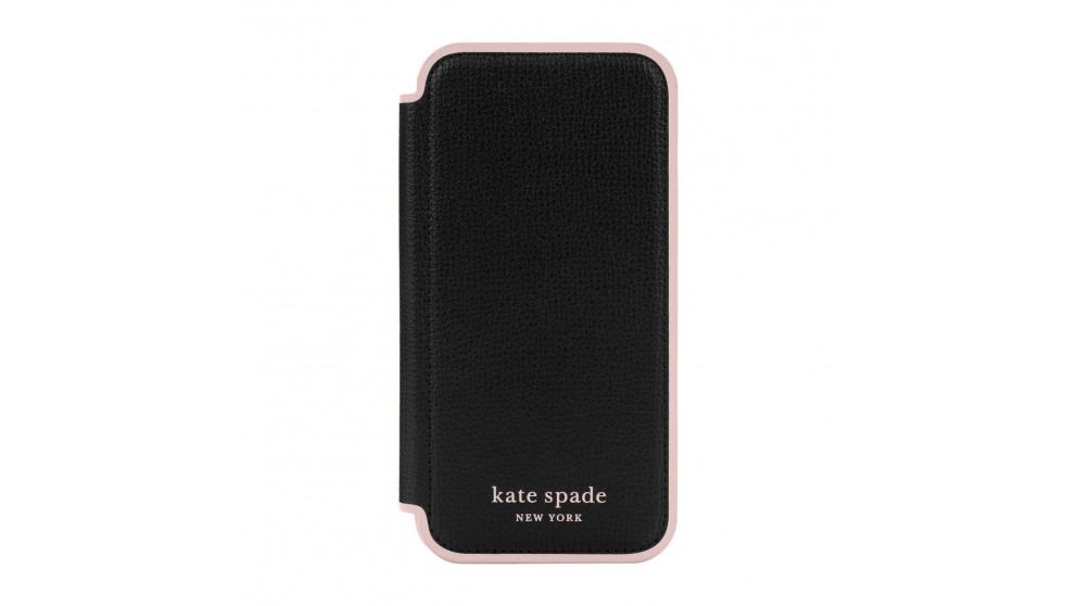 Kate Spade New York Folio Case for iPhone 13 Pro - Black