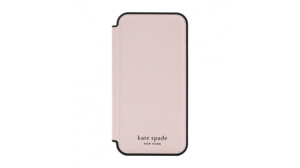 Kate Spade New York Folio Case for iPhone 13 Pro - Pale Vellum