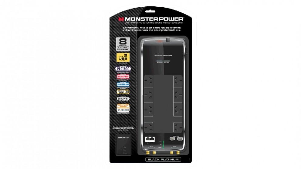 Monster Black Platinum AV 800 Surge Protector