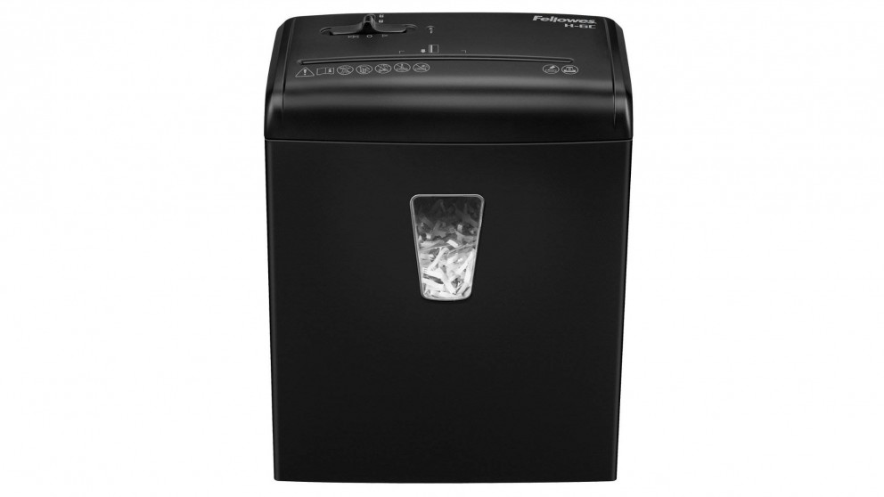 Fellowes Powershred H-6C Cross-Cut Paper Shredder