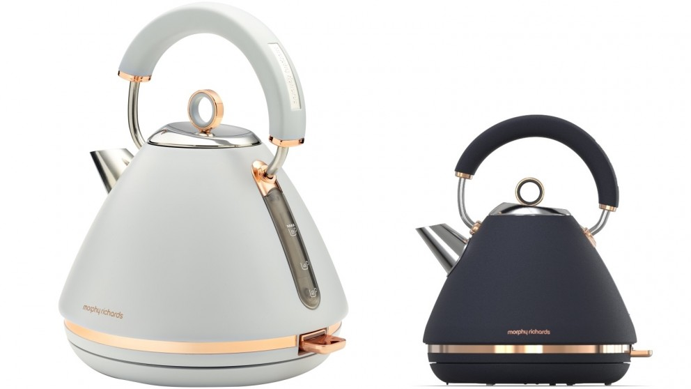 Morphy Richards Accents Rose Gold 1.5L Pyramid Kettle