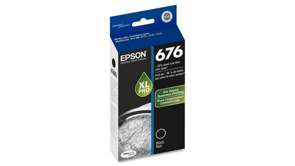 Epson 676XL Ink Cartridge - Black