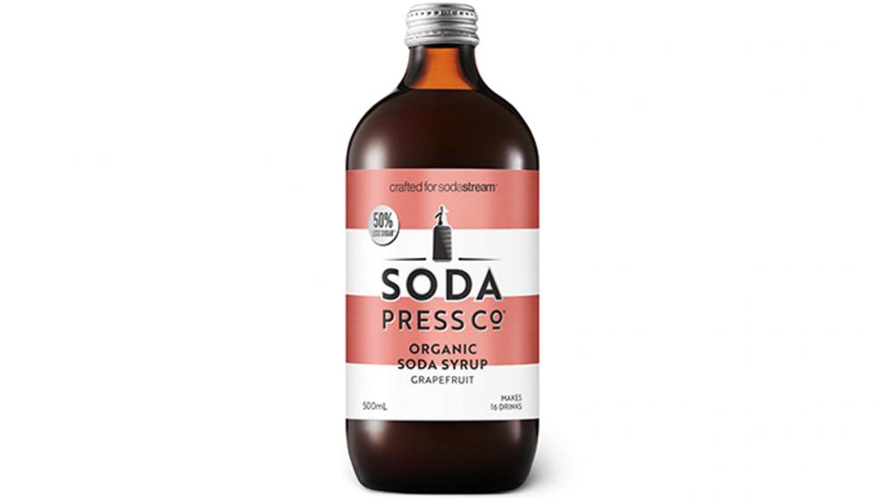Sodastream Pink Grapefruit Syrup