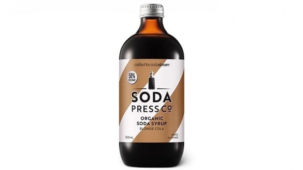 SodaStream Blonde Cola Organic Soda Syrup