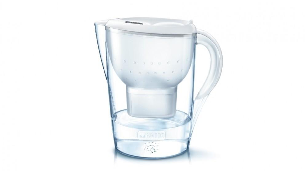 Brita Marella 3.5L Extra Large Water Filter Jug - White