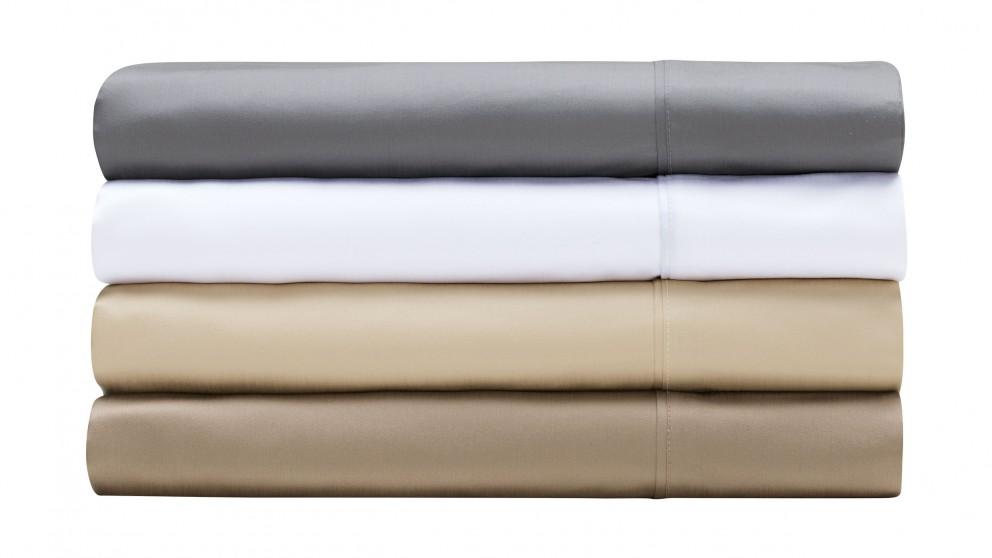 L'Avenue 1000TC King Single Sheet Set - White