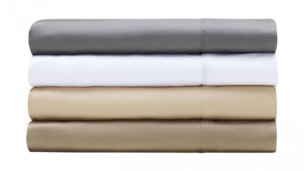 L'Avenue 1000TC White Sheet Set