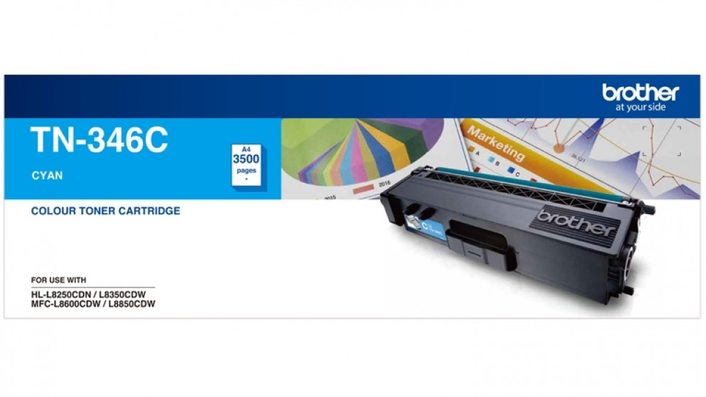 Brother TN-346C Toner - Cyan