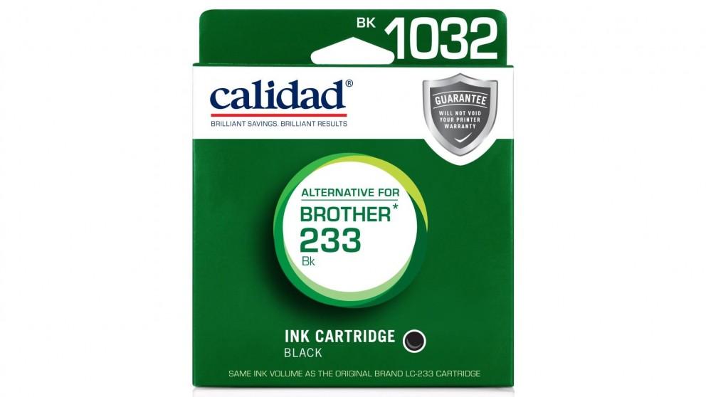 Calidad Brother LC-233 Ink Cartridge - Black