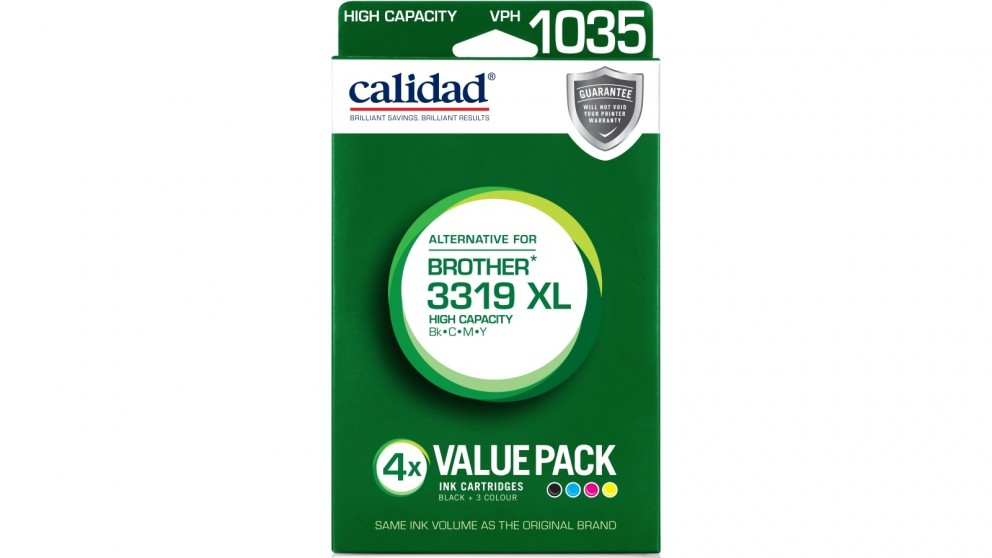 Calidad Brother LC-3319 XL Value Pack Ink Cartridge
