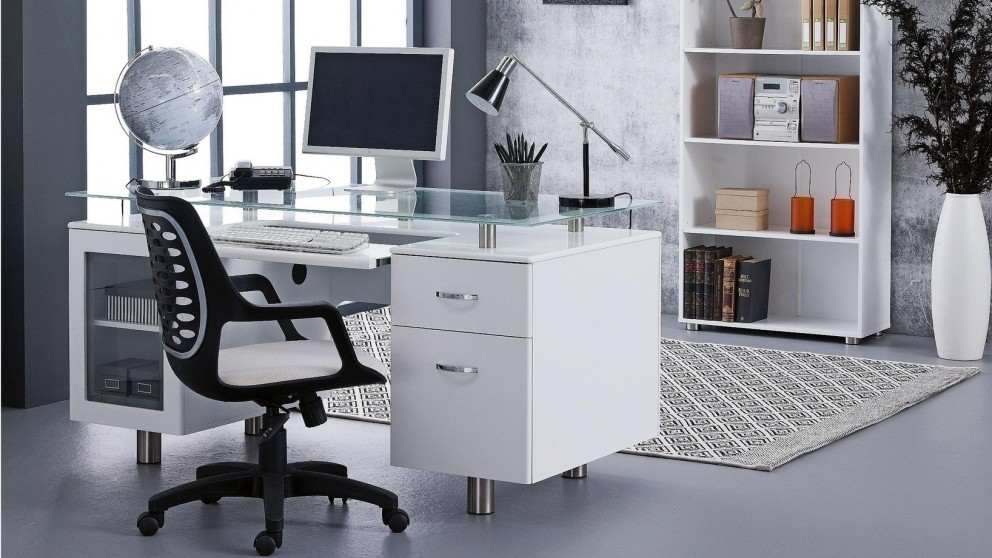 Gen X Executive Desk Desks Suites Home Office Furniture Outdoor Bbqs Harvey Norman