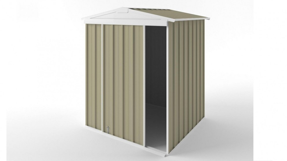EasyShed S1515 Gable Slider Roof Garden Shed - Wheat