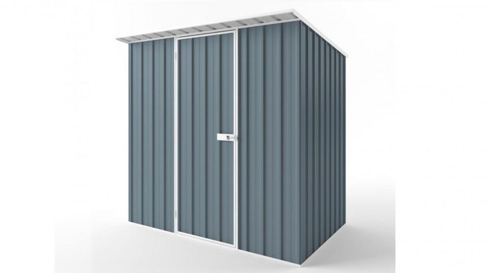 EasyShed S2315 Skillion Roof Garden Shed - Blue Horizon