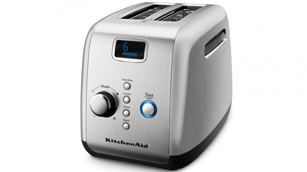 KitchenAid 2 Slice Toaster - Contour Silver