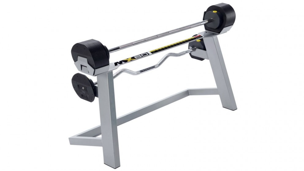 MX Select MX80 Selectorised Adjustable Barbell Stand with Stand