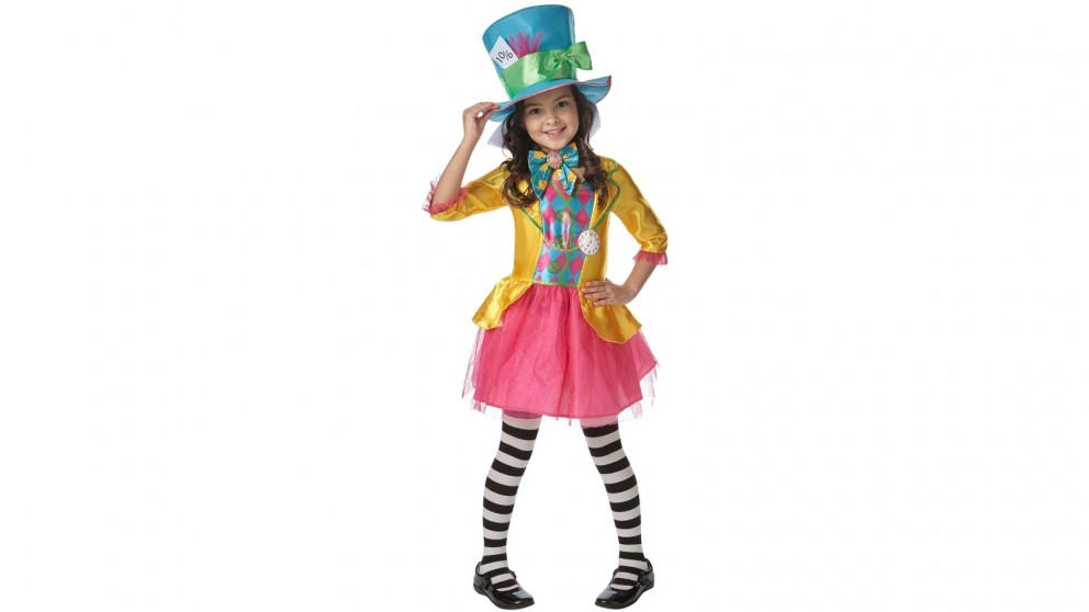 Mad Hatter Girls Deluxe Child Costume