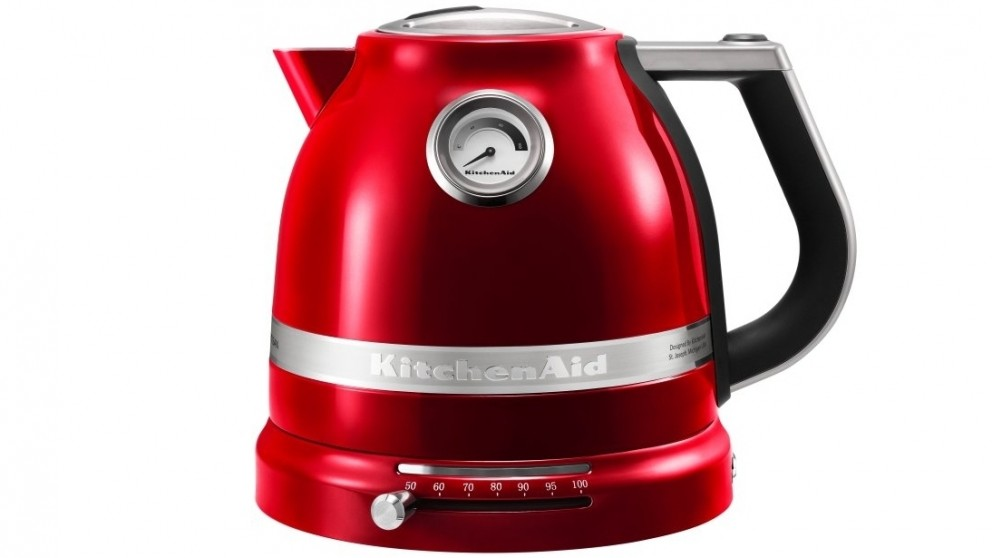 KitchenAid Proline 1.5L Electric Kettle - Candy Apple Red