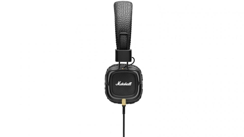 Marshall Major II On-Ear Headphones - Black