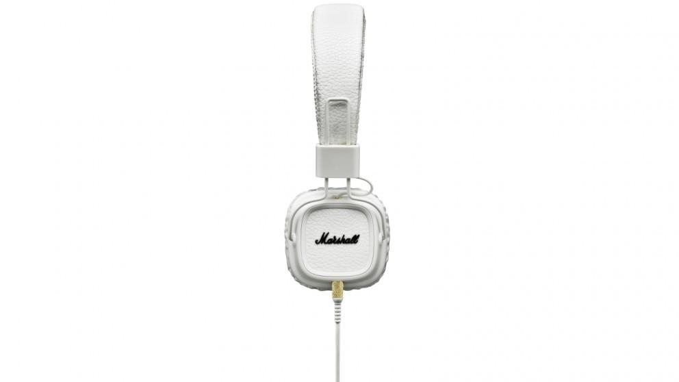 Marshall Major II On-Ear Headphones - White