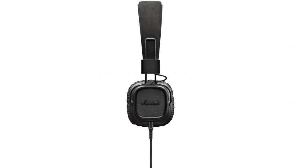 Marshall Major II On-Ear Headphones - Pitch Black