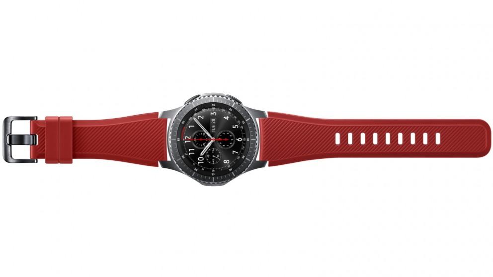 e7e9909ccaed Buy Samsung Gear S3 Active Silicone Band - Orange Red