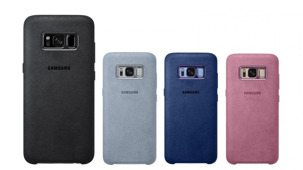 uk availability f68d5 e55f5 Samsung Galaxy S8 Alcantara Cover