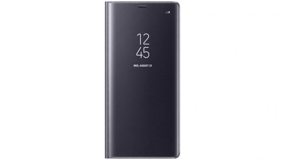 Samsung Galaxy Note 8 Clear View Standing Cover - Orchid Grey
