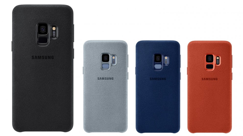 huge selection of 5eab5 96f95 Samsung Galaxy S9 Alcantara Case