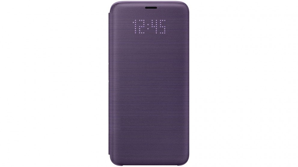 buy popular fdac9 21055 Samsung Galaxy S9 LED View Cover - Violet