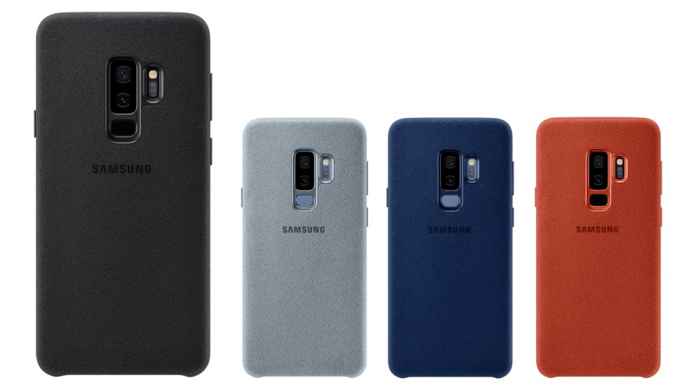 buy popular 2fde1 10a27 Samsung Galaxy S9+ Alcantara Case