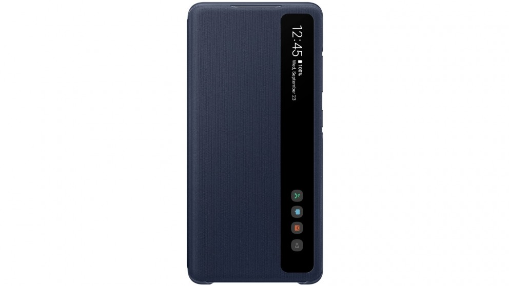 Samsung Galaxy S20FE Clear View Cover - Navy