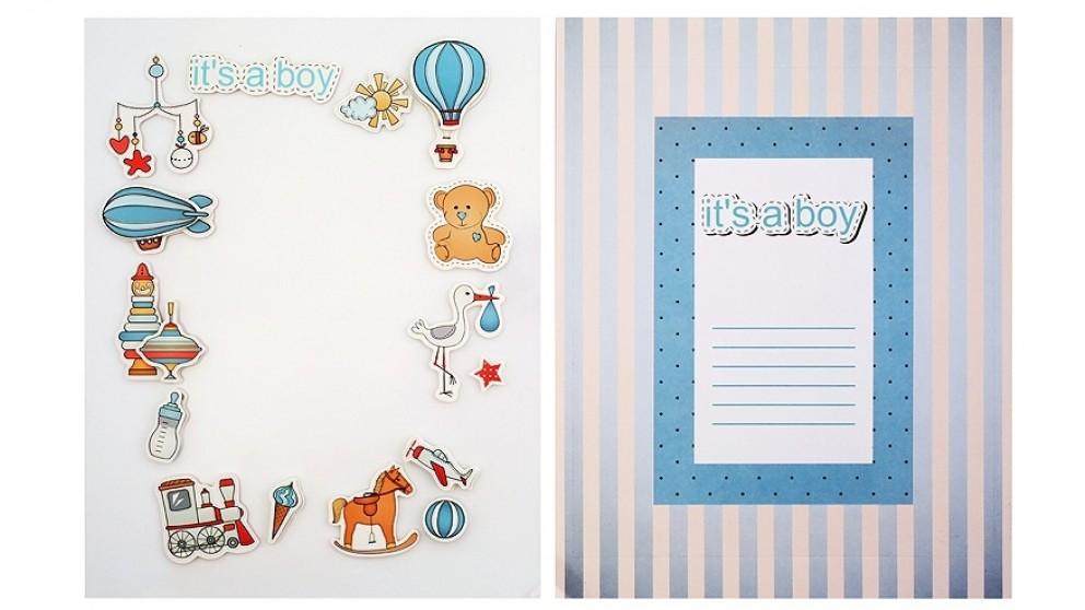 Instax Frame Decoration Kit - Baby Boy