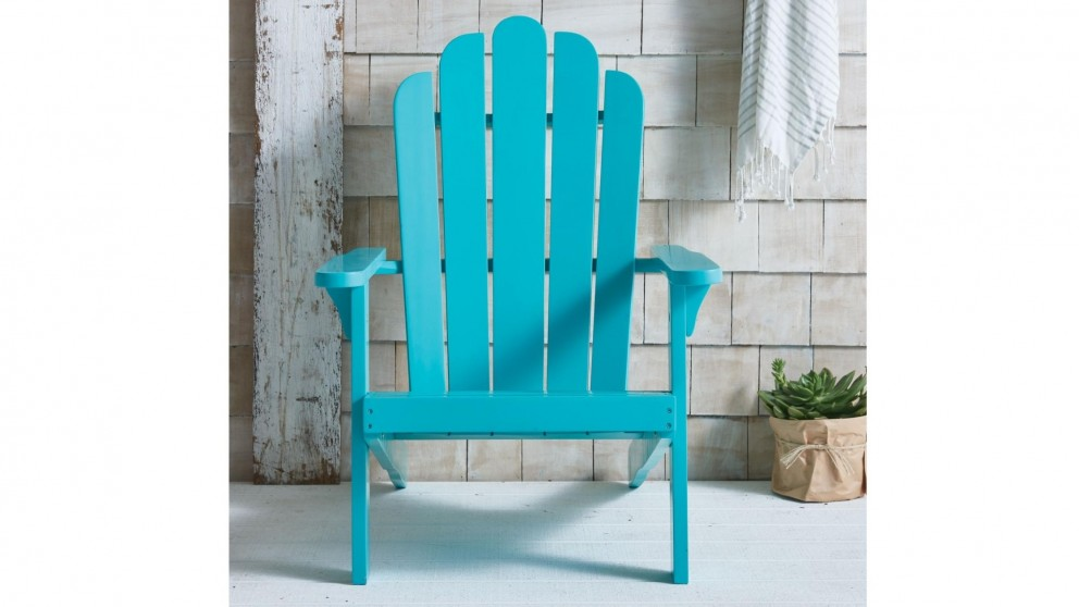 Milly Adirondack Outdoor Chair - Blue