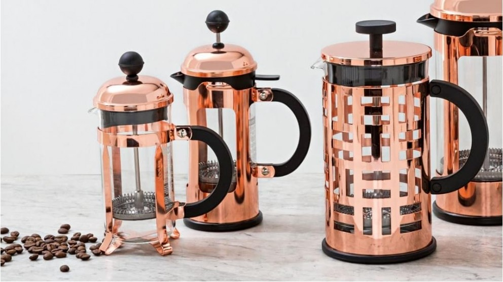 Buy Bodum Chambord 3 Cup French Press Copper Harvey