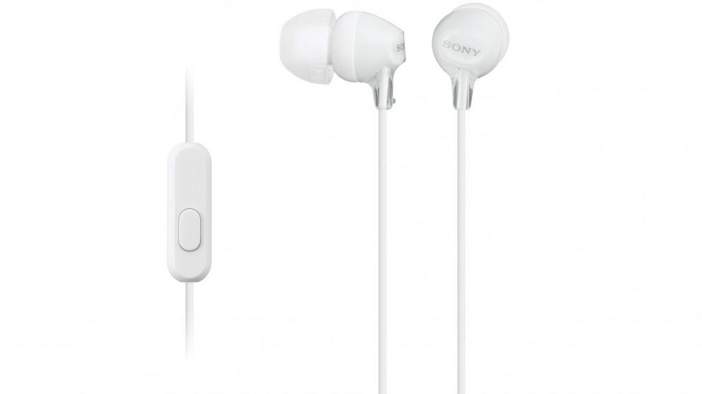 Sony EX Series Monitor In-Ear Headphone - White