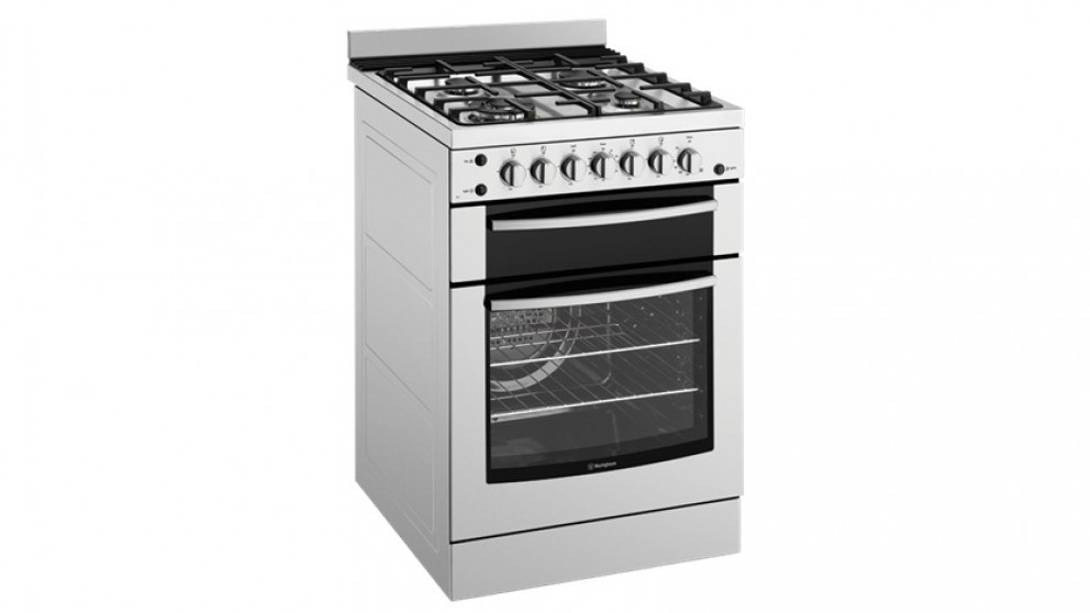 Westinghouse 600mm Natural Gas Freestanding Cooker - Stainless Steel