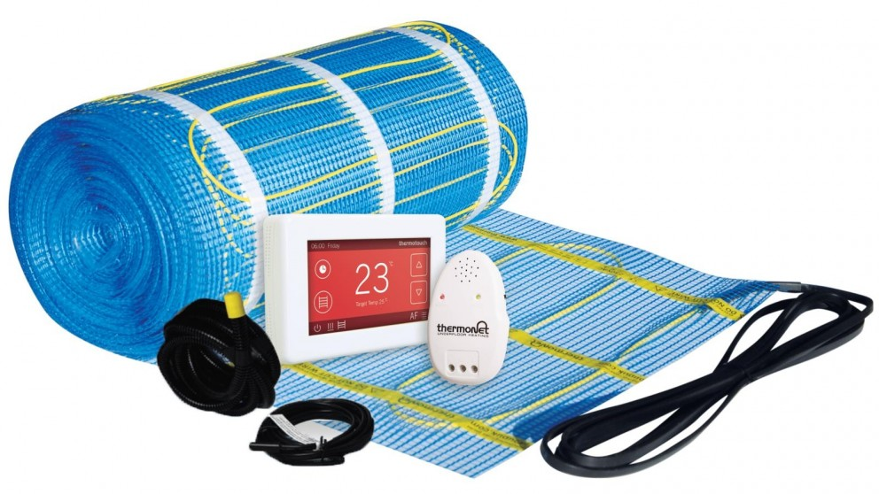 Thermogroup Thermonet 2.5 Sqm In Screed Heating Kit with Dual Thermostat