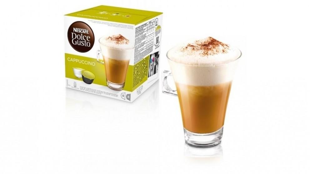 Nescafe Dolce Gusto Cappuccino 16 Coffee Capsules