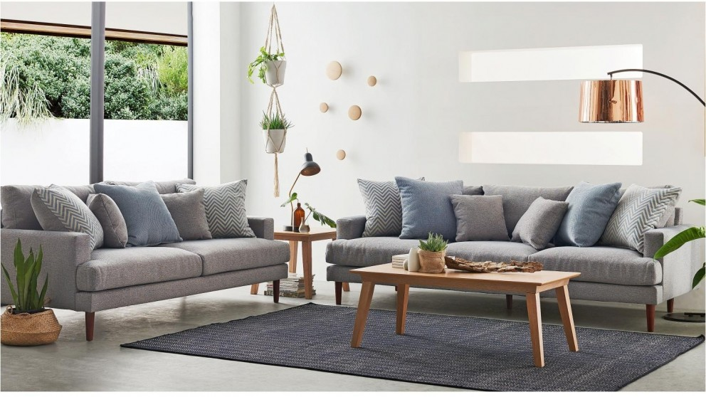 Buy Zenith 3 Seater Fabric Sofa Harvey Norman Au