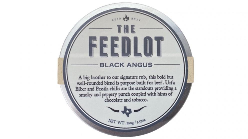 Feedlot Black Angus Rub