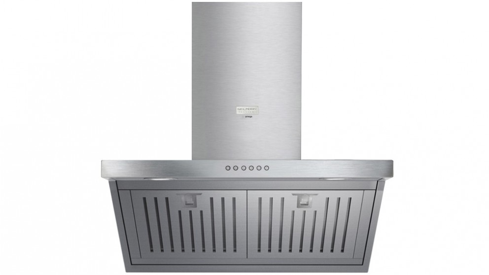 Neil Perry Kitchen by Omega 600mm Reverse Sheer Wall Mounted Rangehood - Stainless Steel