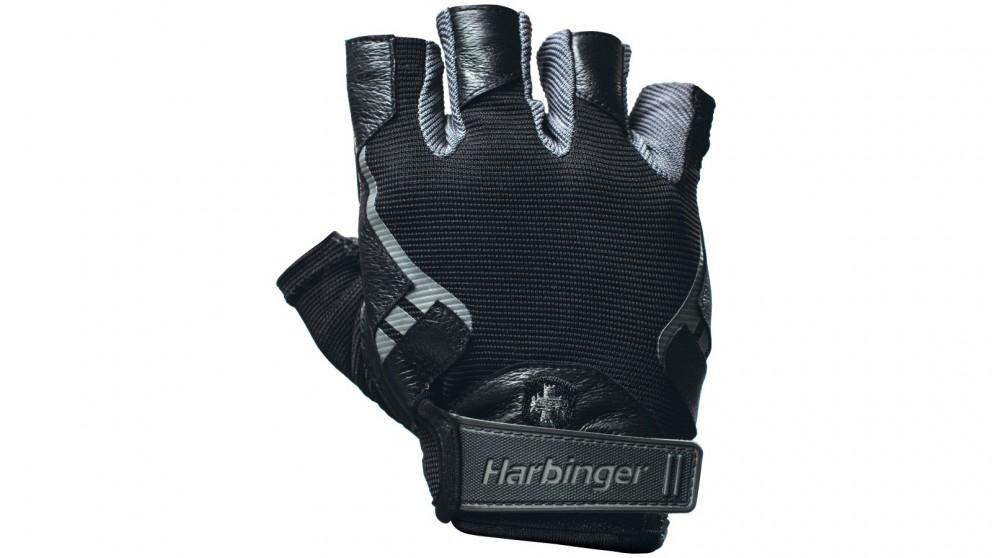 Harbinger Men Pro Black Gloves - Medium