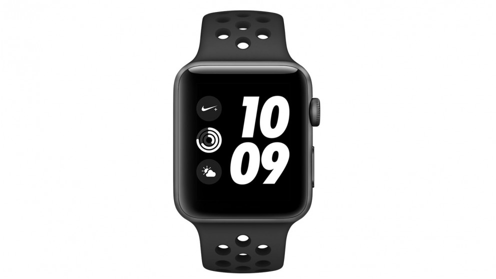 5ad140d4aaf4 Buy Apple Watch Nike+ Series 3 GPS - Space Grey Aluminium Case with Black  Sport Band 42mm