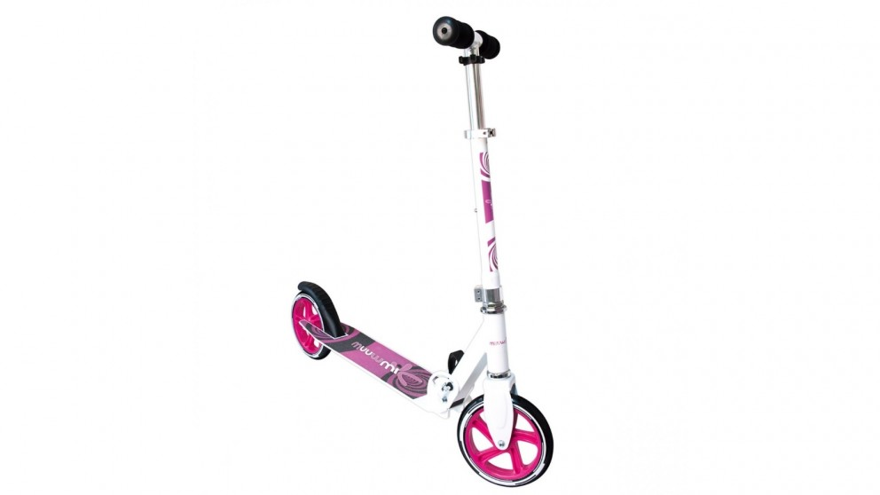 Plumplay Muuwmi 180mm Wheels Scooter - White/Pink