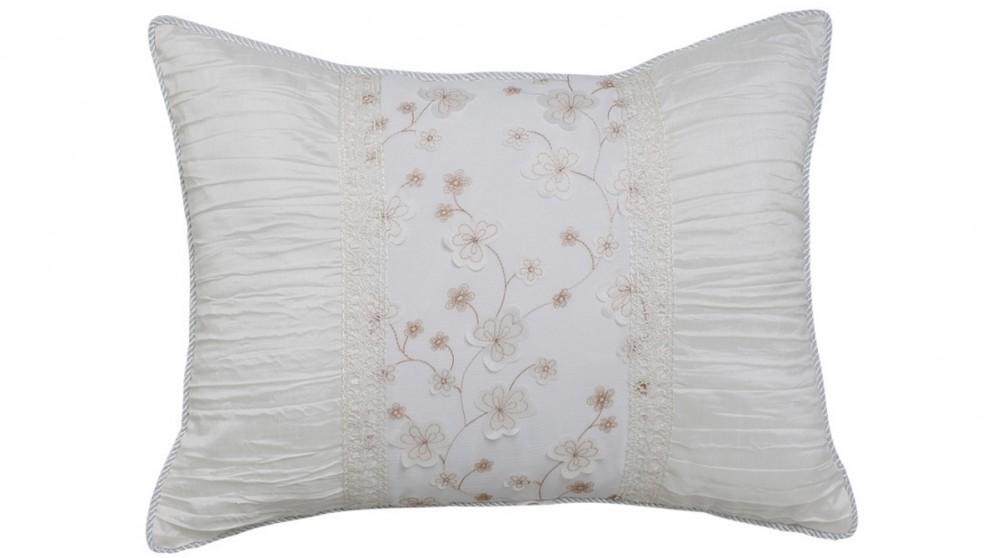 Madeleine Snow Breakfast Cushion