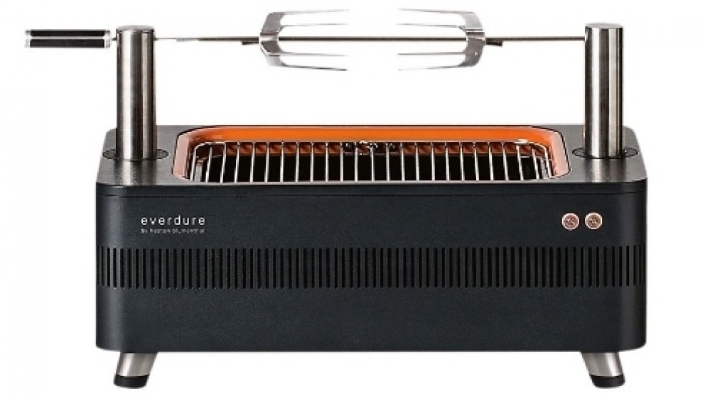 Everdure by Heston Blumenthal FUSION Electric Ignition Charcoal BBQ