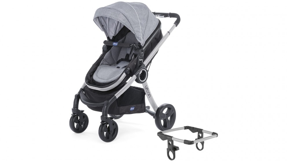 Chicco Urban Stroller Set - Legend/Silver Frame