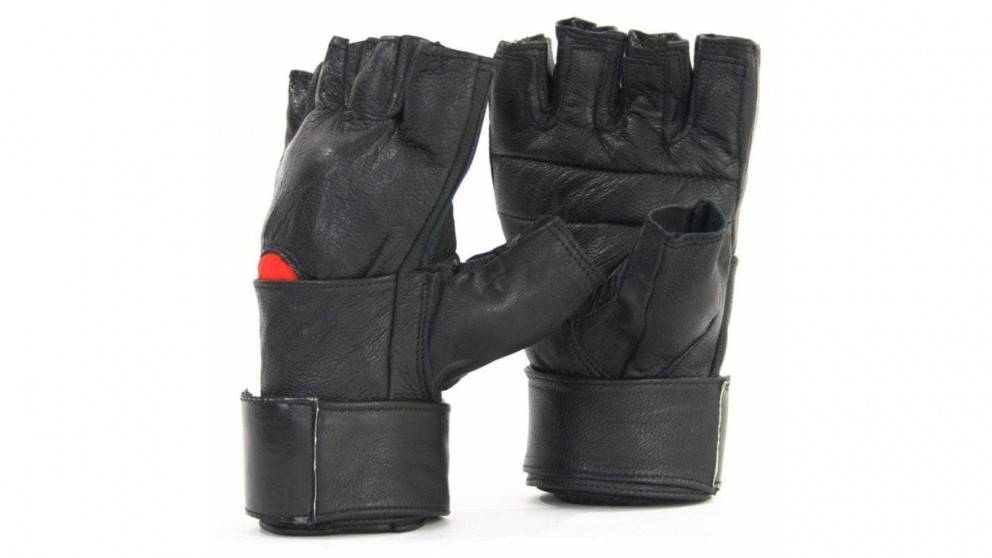 Mani Sports Leather Training Gloves with Wrist Wrap