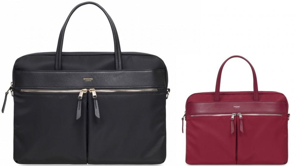 "Knomo Mayfair Hanover 14"" Slim Briefcase"