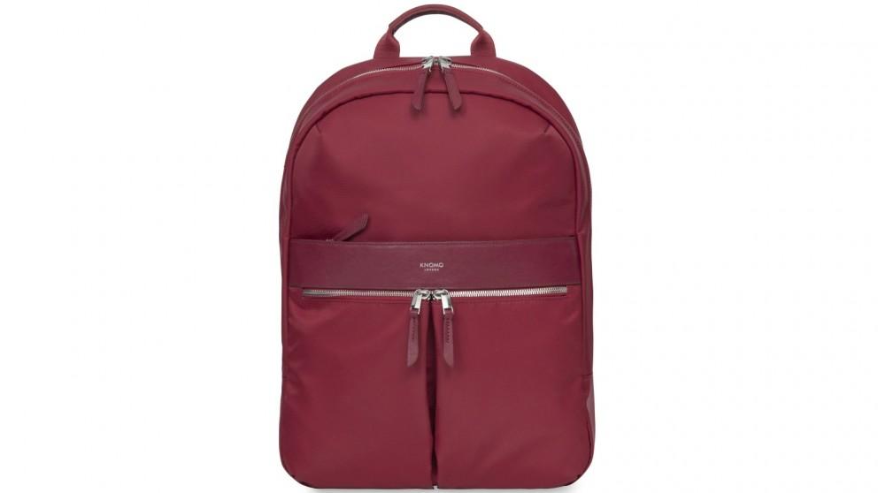 "Knomo Mayfair Beauchamp 14"" Backpack - Cherry"
